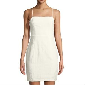 Astr the label white linen dress Small
